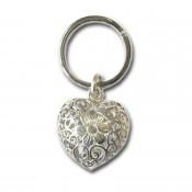 Schlüsselanhänger 925 Silber HERZ