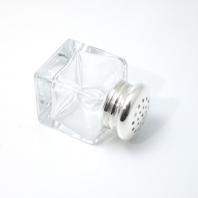 Salzstreuer Kristall NAUMBURG 925er Silber