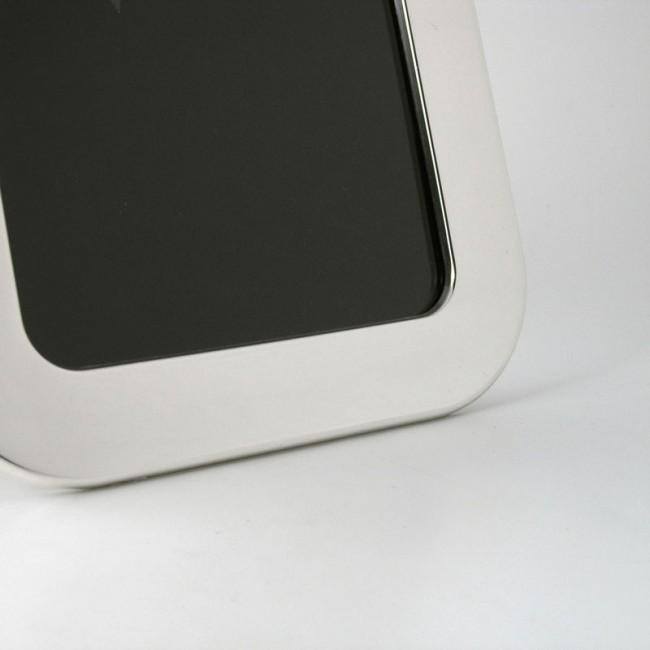 Silber Fotorahmen FRIEDA 10x15cm versilbert