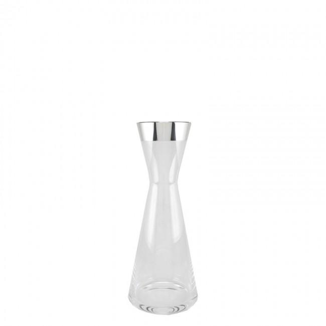 Kristall Vase JUIST 0,1l Feinsilberrand