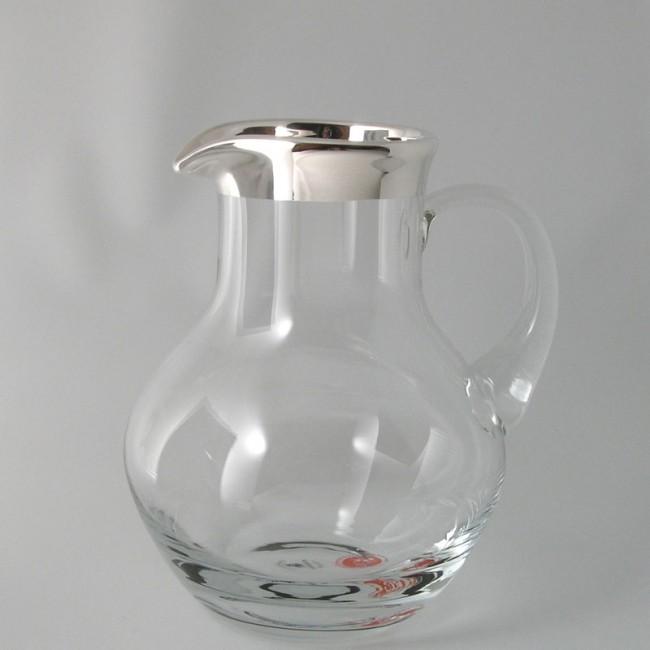 Kristallkrug Silberrand FÖHR 0,75l