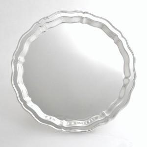 Silbertablett HEIDELBERG Ø30cm versilbert