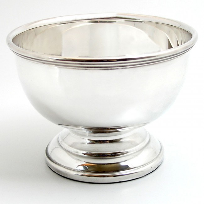 Silberschale BERLIN Ø14cm versilbert