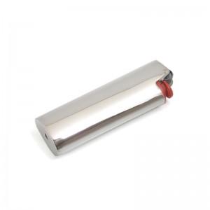 Silber Feuerzeughülle OTTO klein versilbert