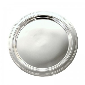 Silberteller LÜBECK Ø14cm versilbert