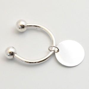 Silber Schlüsselanhänger LINA versilbert