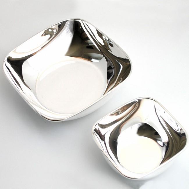 Silberschale PASSAU 9x9cm versilbert