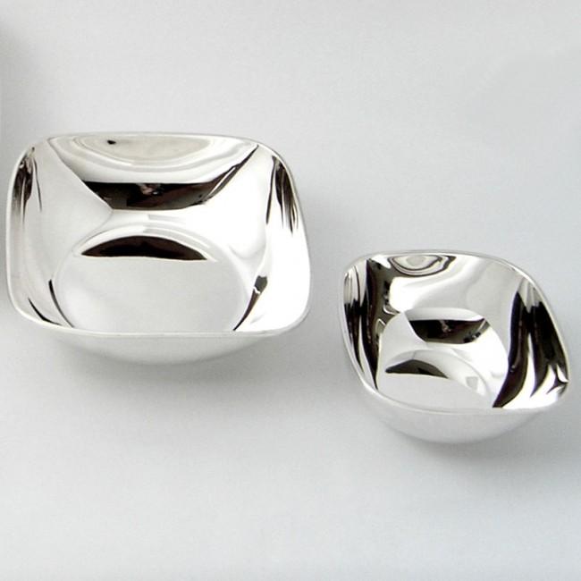 Silberschale PASSAU 12x12cm versilbert