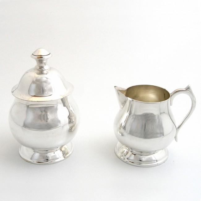 Silber Zucker und Sahne MÜNSTER versilbert