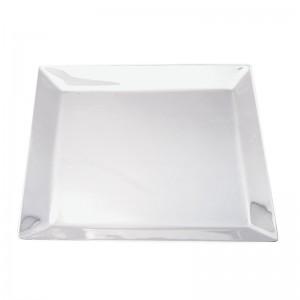 Silber Obstplatte KÖLN 21x21cm versilbert