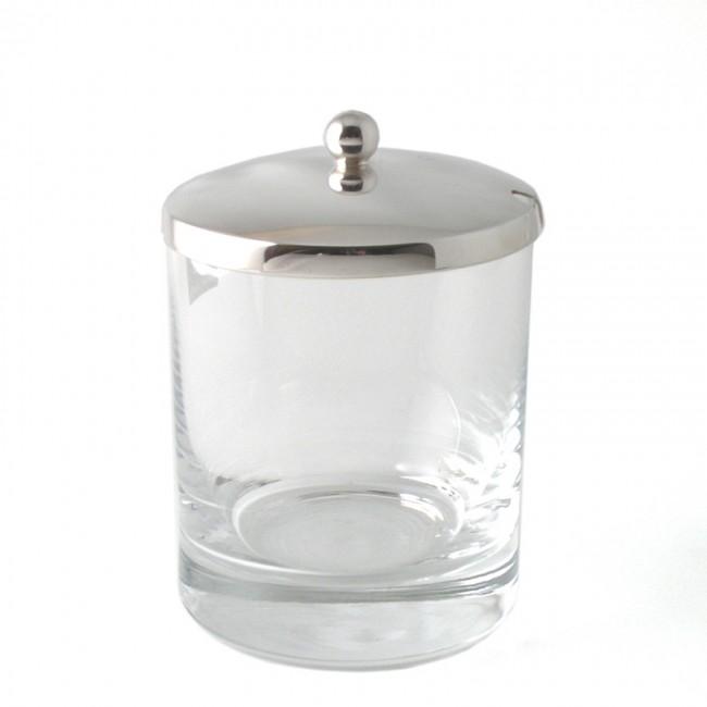 Marmeladenglas INGRID versilbert