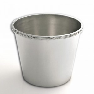 Silber Übertopf THERESA versilbert