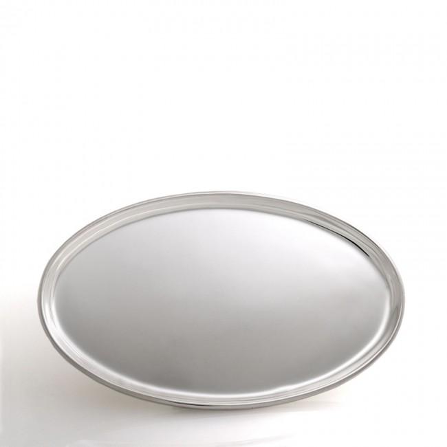 Silbertablett POTSDAM 32x20cm versilbert