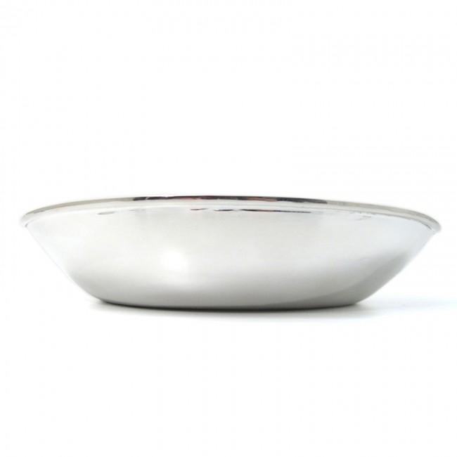 Silberschale PLÖN oval versilbert