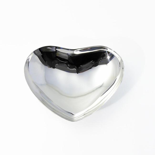 Silberschale HERZ versilbert
