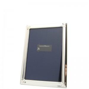 Silber Fotorahmen MARINA  6x9cm versilbert