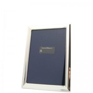 Silber Fotorahmen MAJA  6x9cm versilbert - 2 Stück à
