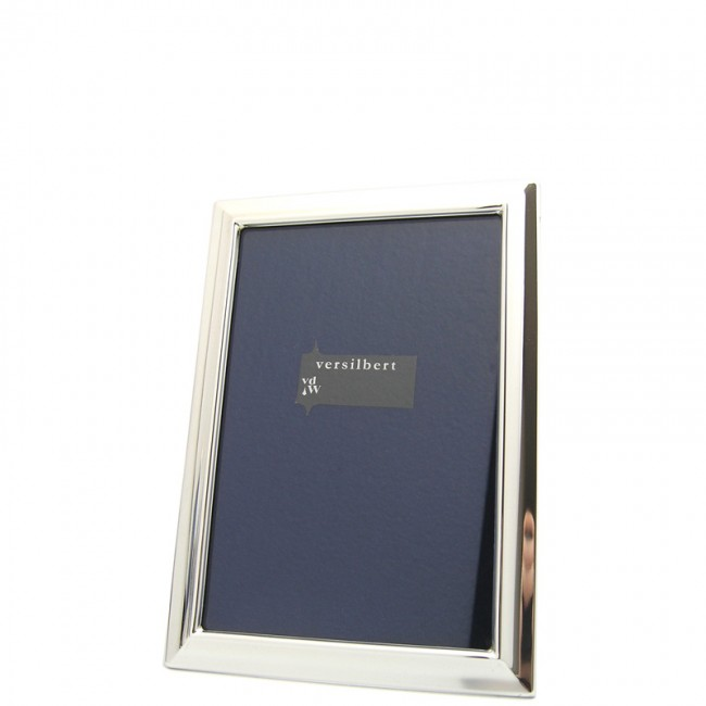 Silber Fotorahmen MAJA  6x9cm versilbert