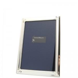 Silber Fotorahmen MARINA  9x13cm versilbert