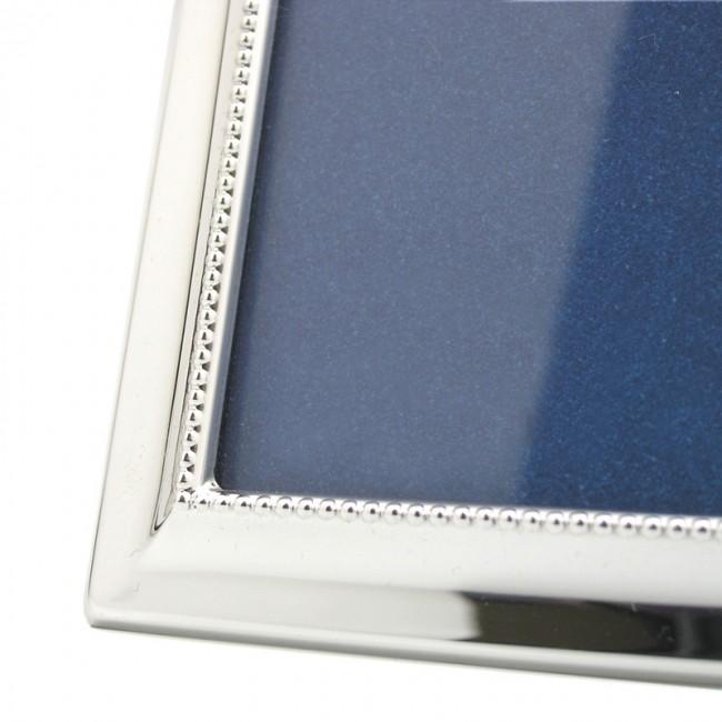 Silber Fotorahmen BARBARA  9x13cm versilbert