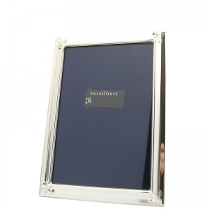 Silber Fotorahmen MARINA 10x15cm versilbert - 2 Stück à