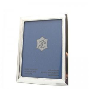 Silber Fotorahmen BARBARA 10x15cm versilbert