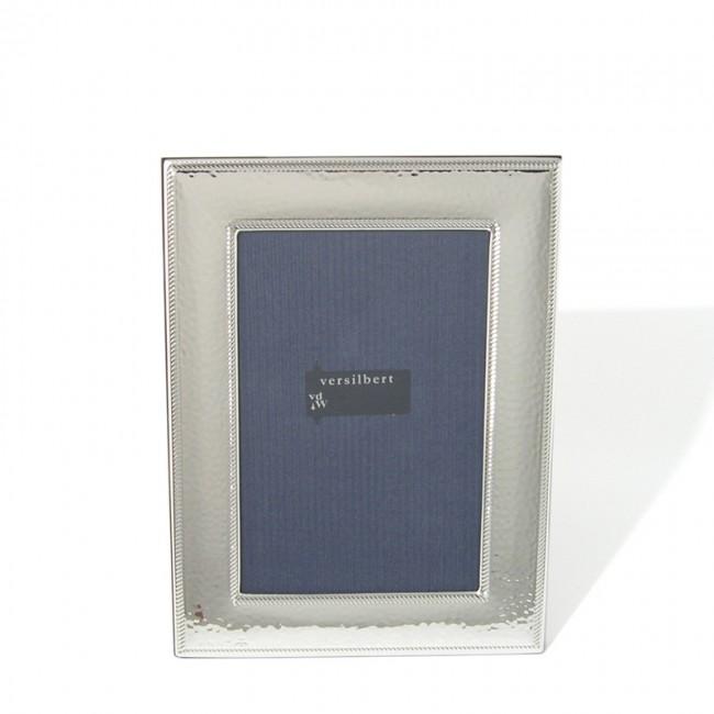 Silber Fotorahmen CAROLINE 10x15cm versilbert