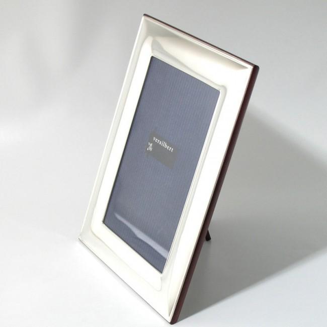 Silber Fotorahmen FRANZISKA 10x15cm versilbert