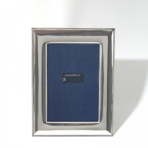 Silber Fotorahmen FRANZISKA 13x18cm versilbert - 2 Stück á