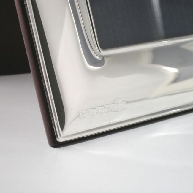 Silber Fotorahmen FRANZISKA 13x18cm versilbert