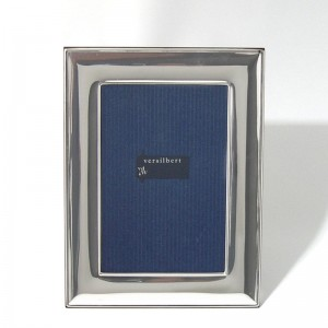 Silber Fotorahmen FRANZISKA 18x24cm versilbert