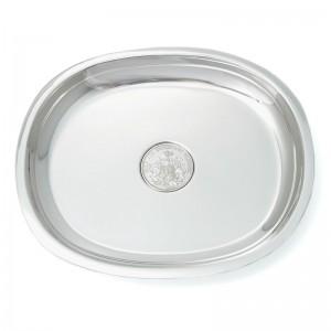 Silber Münzteller Blankenese 15,5x13cm 925erSilber