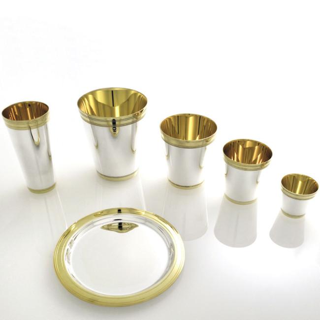 Silberbecher  (Schnaps) BREMEN 925er Silber