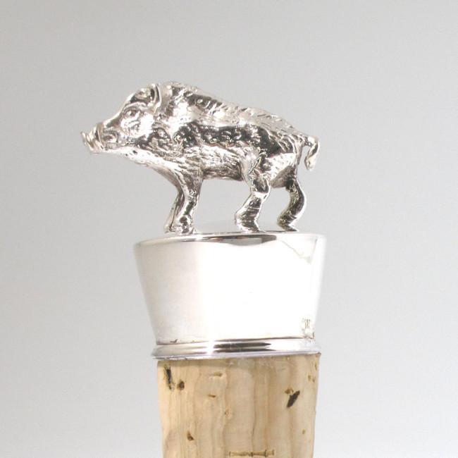 Silber Flaschenkorken KEILER 925er Silber