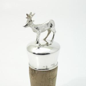 Silber Flaschenkorken REHBOCK 925 Silber