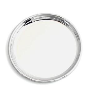Silber Untersetzer WIESBADEN Ø12cm 925er Silber