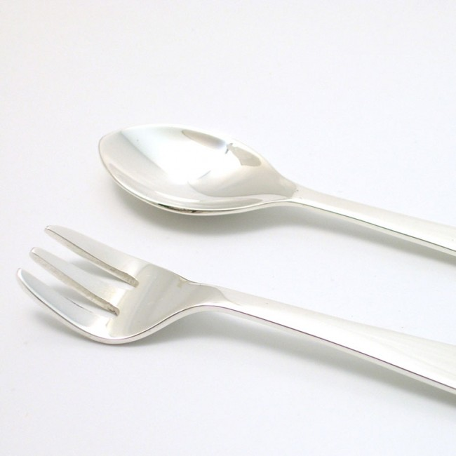 Silber Kinderbesteckset BÄR 925er Silber