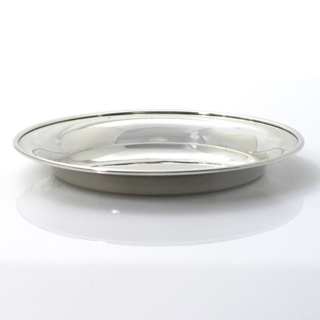 Silber Untersetzer STADE Ø10cm 925er Silber