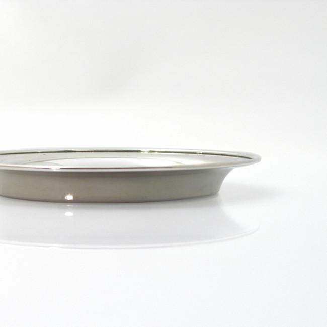 Silber Untersetzer STADE Ø12cm 925er Silber