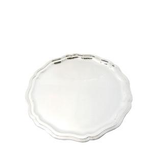 Silbertablett MÜNCHEN Ø25cm 800er Silber