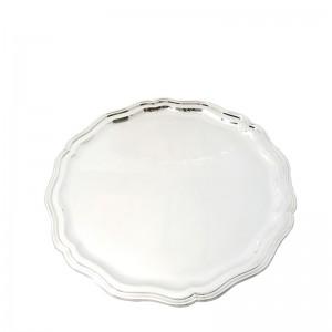 Silbertablett MÜNCHEN Ø30cm 800er Silber