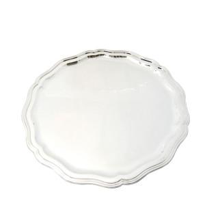 Silbertablett MÜNCHEN Ø35cm 800er Silber