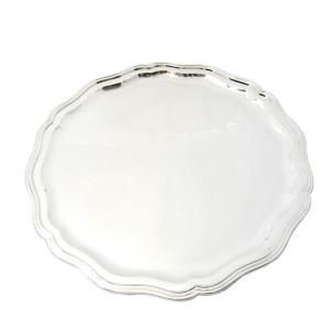 Silbertablett MÜNCHEN Ø40cm 800er Silber