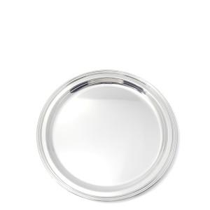 Silbertablett BAYREUTH Ø25cm 800er Silber
