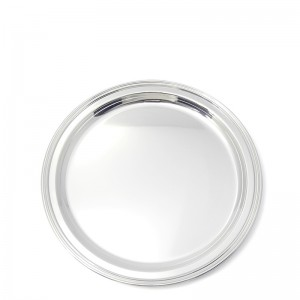 Silbertablett BAYREUTH Ø30cm versilbert
