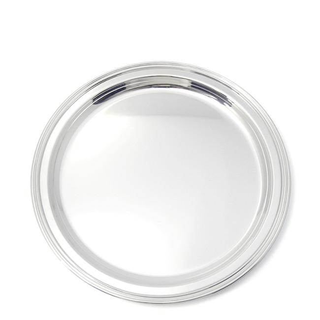 Silbertablett BAYREUTH Ø35cm 800er Silber