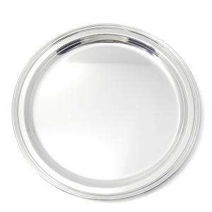 Silbertablett BAYREUTH Ø40cm 800er Silber