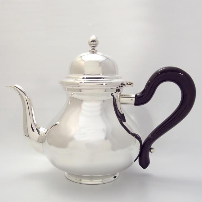 Silber Teekanne MALENTE versilbert