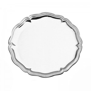 Silberteller CHIPPENDALE 925 Silber Ø15cm