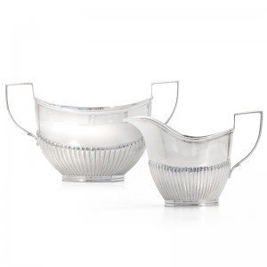 Silber Kaffee- / Teekanne